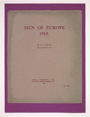 Men of Europe. 1915.