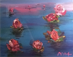 Homage to Monet: Water Lillies