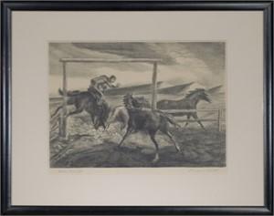 Horse Wrangler, c. 1930