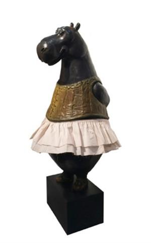 Hippo Columbine (medium)  (1/3), 2013