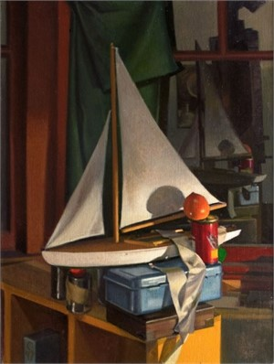 Toy Sailboat by Ocean Quigley