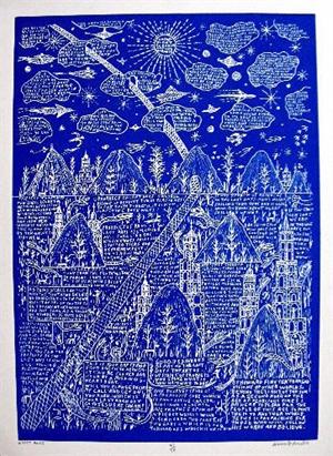 Empty Road (Blue), c.1985