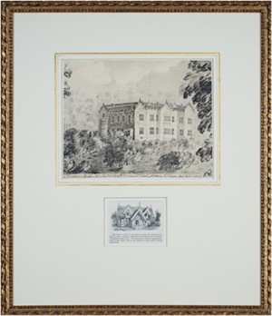 View of Chequers Court, 1805