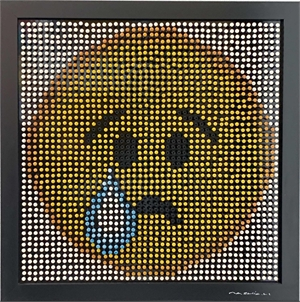 Emoji Screw Series - Crying Face