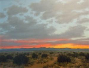 Evening Sky Near Galisteo NM
