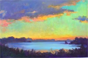 Inlet Dawn by Linda Richichi