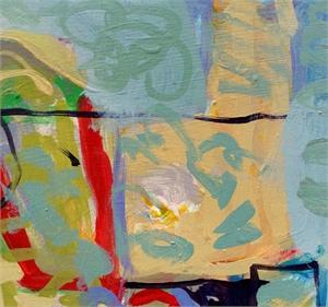 Blue Silks #1 by Billie Bourgeois
