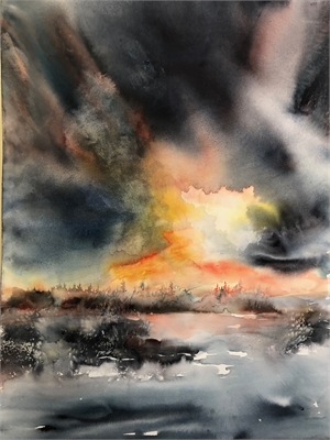 Sunset Storm, 2019