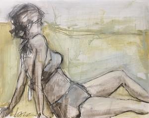 Figure Sketch III by Lynn Johnson