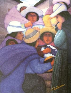 Mujeres De Huancayo, 2005