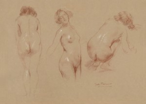 Study of Three Nudes, 2007