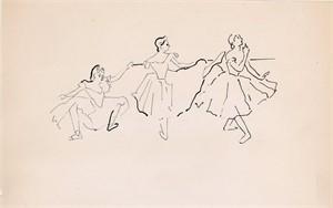 Dancers #2 by Anna Walinska