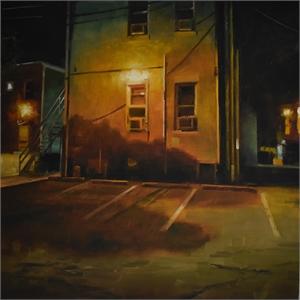 """STEVEN S WALKER, """"Franklin Alley"""""""