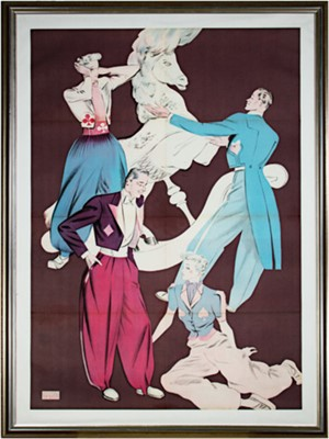 Fashionable Boulevard Montmartre, c.1940