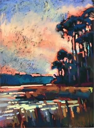 Lagoon, Hunting Island by Susan Mayfield