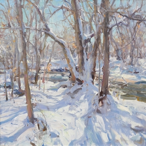 Winter on Bear Creek by Quang Ho