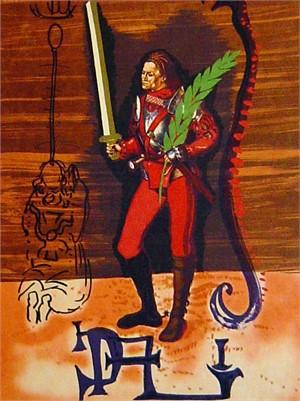 Christopher Columbus (Dali Discovers America Suite), 1979