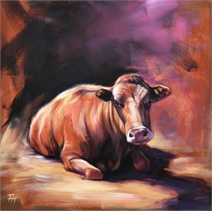 Resting Heifer