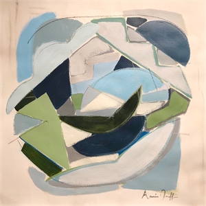 Sea Glass I by Annie Griffin