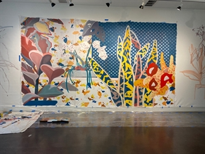 PASTEL Large Floral Mural