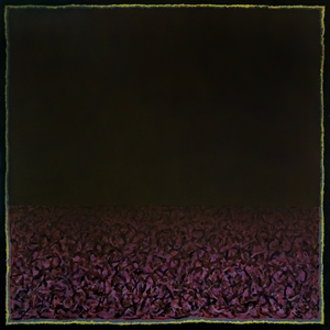 Untitled (purple reductive landscape), c. 1968