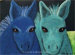 BLUE BURROS