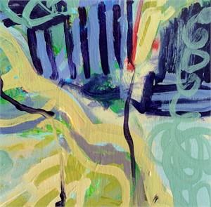 Blue Silks #4 by Billie Bourgeois