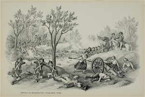 Battle of Monmouth, June 28, 1778, c1890