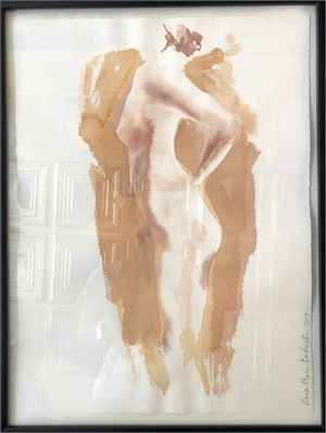 Nude in Gold, 2019