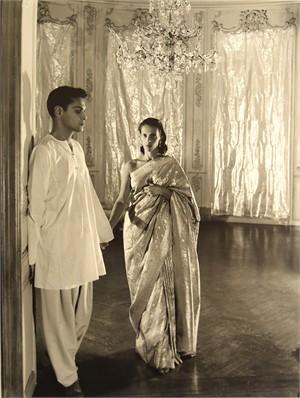 Bachoo Dinshaw and Her Brother Edulji, 1944