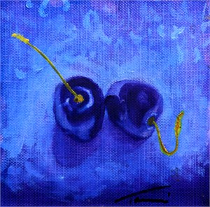 Purple Cherries