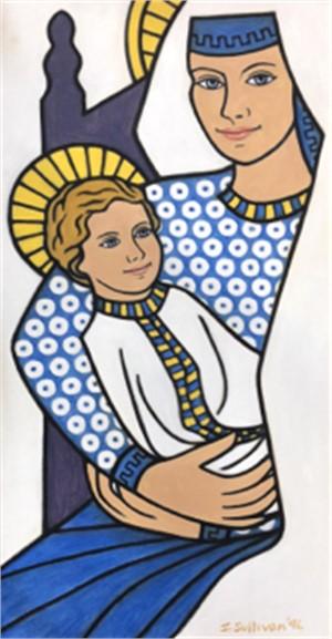 Polka Dot Madonna, 1996