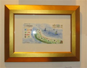 Famous Artist Series: Homage to Kees Van Dongen: Souvenir Le Meridien, 2009