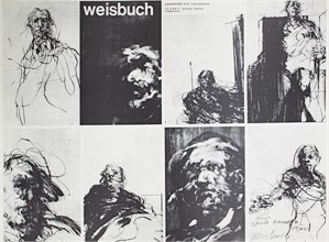 Weisbuch Couverture et 5 lithographs, 1970