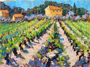 A Vineyard Near Cucuron