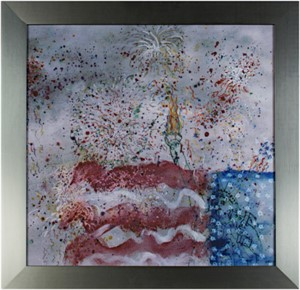 Fireworks Series:  Grand Finale I (close-up), 2006