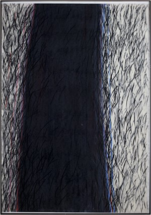 Black band abstract, 1981