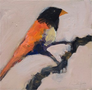 Bird on Branch #1, 2018