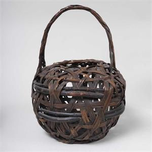 JAPANESE IKEBANA BASKET, Japanese, Meiji period (1886-1912)