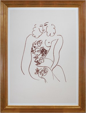 Nude w/Flowers (from Florilege des Amours de Ronsard Portfolio), 2007