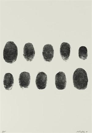 Not Manzoni (Impronte, 1960) (32/60), 2015