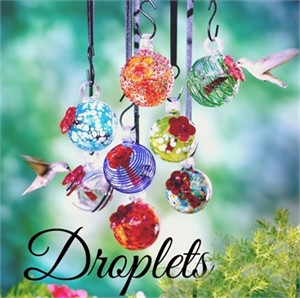 Hummingbird Feeder - Droplets Assorted