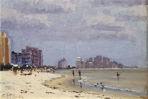 Plein Air, Beach Study