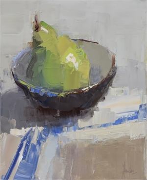 Pear in Bowl