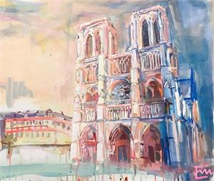 Notre Dame Paris by Erin Tapp
