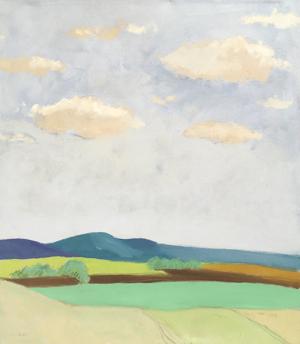 Montana Landscape, 1980