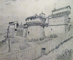 Grotta Ferrata (Castle), 1924