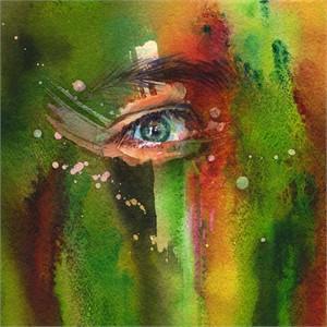 Piercing the Veil - Green, 2018