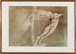 Homage to Venus de Milo (Bonne Heureuse Annee 1979-Joelle Claude Weisbuch inscribed on verso) (26/50), 1979