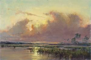 "MARY GARRISH, ""Summer Sunset"""